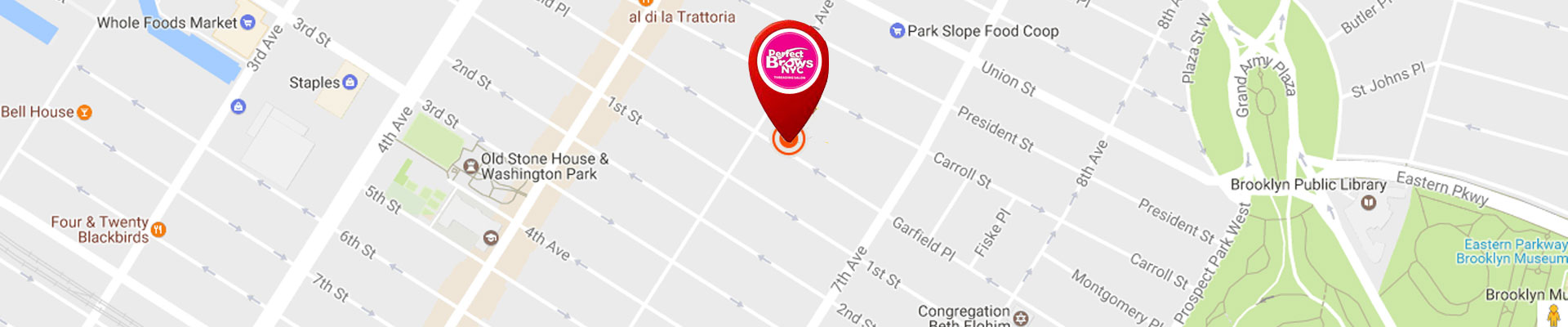 Find Nearest Perfect Brows Store   New York